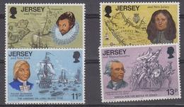 Jersey 1976 Bicentenary USA 4v ** Mnh (44508) - Jersey
