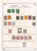 Grenade Grenada. Ancienne Collection. Old Collection. Altsammlung. Oude Verzameling. - Collections (sans Albums)
