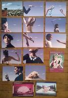 Lot De 16 Cartes Postales Publicitaires AIR FRANCE - Publicité