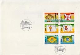 Brazil Cancelled Set In Folder - Stamps