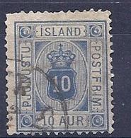 190031892  ISLANDIA  YVERT    SERVICE  Nº  5/6 - Oficiales