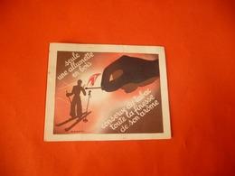Allumette Tabac Arôme  M PONTY Illustration MAIN SKIEUR - Cigarette Cards