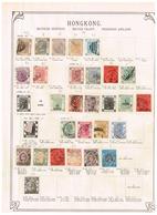 Hongkong. Ancienne Collection. Old Collection. Altsammlung. Oude Verzameling. - Collections (sans Albums)