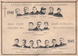LOCHRISTI AANDENKEN 1945 - Lochristi