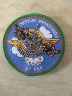 Écusson Du Groupe Commando Parachutiste Du 2ème REP Légion - Blazoenen (textiel)