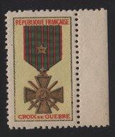 Vignette - Croix De Guerre - Commemorative Labels
