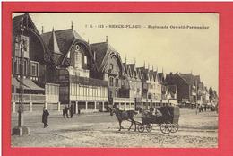BERCK 1921 ESPLANADE OSWALD PARMENTIER CARTE EN BON ETAT - Berck