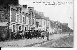 LE VIVIER - SUR - MER   Départ Pour La Chasse Aux Allouettes Et La Peche - Autres Communes