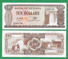 GUYANA - 10 DOLLARS - 1992 - UNC - Guyana