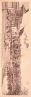 Seltene ALTE  Doppel- AK  GENVAL-les-Eaux / Dep. Wall.-Brab.   - Hotel Restaurant Romeo - Ca. 1920 - Rixensart
