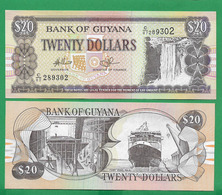 GUYANA - 20 DOLLARS - 2009 - UNC - Guyana