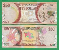 GUYANA - 50 DOLLARS - 2016 – COMMEMORATIVE - UNC - Guyana