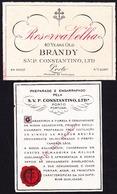 Brandy Label, Portugal - Brandy CONSTANTINO Reserva Velha / Porto - Labels