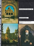 Armenia. Holy Etchmiadzin. Katolikos Of All Armenians. Holy Gayane Monastery.3 Cards/ - Armenia