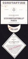 Brandy Label, Portugal - Old Brandy CONSTANTINO / Porto - Labels