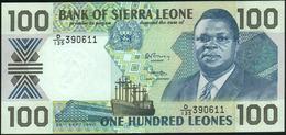 SIERRA LEONE - 100 Leones 26.09.1990 UNC P.18 C - Sierra Leone