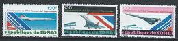 Mali YT PA 351-353 XX / MNH Aviation - Mali (1959-...)