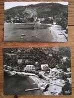 Lot De 2 Cartes Postales / THEOULE SUR MER - Autres Communes