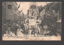 Lebbeke - Luisterrijke Jubelfeesten, De Historische Stoet 28 Mei 1908 - O.L.V. Van Lebbeke Geneest De Zieken - Lebbeke