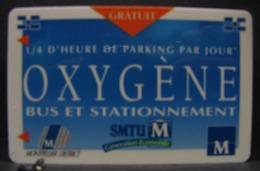 TéCa. 7. Oxygène Bus Et Dtationnement - France
