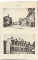 Aumetz  Grande Rue  Et  Mairie - Francia