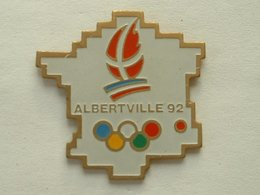 Pin's ALBERTVILLE 92 - Jeux Olympiques
