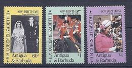 190031918  ANTIGUA Y BARBUDA  YVERT    Nº  905/7  **/MNH - Antigua Y Barbuda (1981-...)