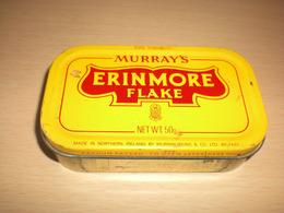 Pipe Tobacco Murray S Erinmore Flake  Made In Northern Ireland  Belfast - Contenitori Di Tabacco (vuoti)