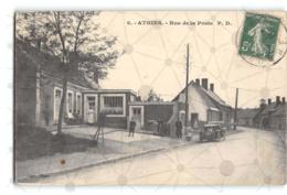 Athies_Rue De La Poste_Etat Superbe. - Autres Communes
