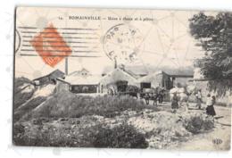 Romainville_Usine à Chaux Et Platre_Etat Superbe. - Other Municipalities
