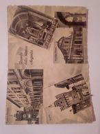 Ricordo Della Vecchia Argenta VIAGGIATA 1952 Torre Palazzo Facciata Chiesa Interno Vedute - Ferrara