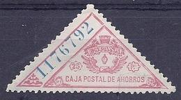 190031924  ESPAÑA  EDIFIL  POLIZA Nº  17 - Steuermarken