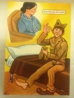 Humor Militari - Nostalgia Di Casa   CARTOLINA  Non Viaggiata - Umoristiche