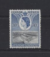 "K.U.T.....QUEEN ELIZABETH II.(1952-NOW)..."" 1954.""...30c.....SG171....MH. - Kenya, Uganda & Tanganyika"