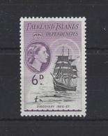 "FALKLAND Is.."" DEPS ""..QUEEN ELIZABETH II.(1952-NOW)...."" 1954.""...6d.....SGG33...MNH.. - Falklandinseln"