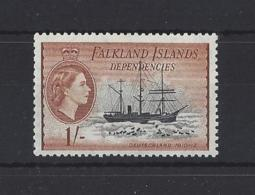 "FALKLAND Is.."" DEPS ""..QUEEN ELIZABETH II.(1952-NOW)...."" 1954.""...1/-......SGG38...MNH.. - Falklandinseln"