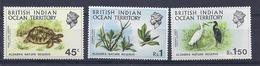 190031928  BRITISH INDIAN OCEAN TERRITORY YVERT  Nº  39/42  **/MNH  (EXCEPT  Nº 40) - Nuevos