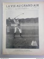 1900 GOLF - COMPIEGNE - JEUX OLYMPIQUE ( EXPOSITION UNIVERSELLE ) - M. C. E. SANDS - Books, Magazines, Comics
