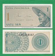 INDONEZIA - 1 SEN - 1964 - UNC - Indonesien