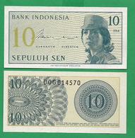 INDONEZIA - 10 SEN - 1964 - UNC - Indonesien