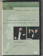 DVD  MOZART  Symphony N°40 Et 31  GIANLUIGI GEMETTI  Orch SALSBURG    Etat: TTB Port 110 Gr Ou 30 Gr - Concert & Music