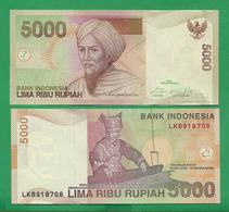 INDONEZIA - 5000 RUPIAH – 2016 - A - UNC - Indonesien
