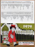 Calendriers > Petit Format : 1971-80 La Montagne 1979 - Calendriers