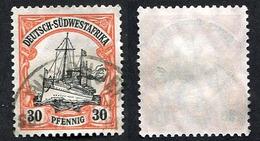 Allemagne, Colonie Allemande, Afrique Du Sud-ouest, Deutsh-Südwestafrika, N°30 Oblitéré, Qualité TB - Colonie: Afrique Sud-Occidentale