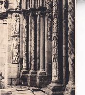 SANTIAGO De COMPOSTELLA Cathédrale Puerta De LAS PLATERIAS  ESPAGNE 1929  Photo Amateur Format Environ 7,5 X 5,5 Cm - Plaatsen