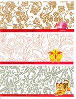 Hong Kong 1996-98 New Year Stamp Booklets: Rat ('96), Ox ('97), Tiger ('98) All MNH ** - Hong Kong (...-1997)