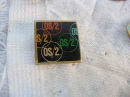 Pin's Informatique, Systeme IBM OS/2 - Informatique