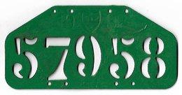 Velonummer Waadt Vaud VD 32 - Number Plates