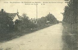 17  SAINT TROJAN LES BAINS - ROUTE DU GRAND VILLAGE - ENTREE DU PAYS (ref 5789) - Ile D'Oléron
