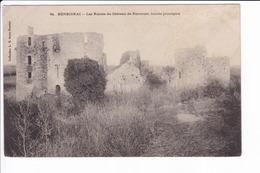 94 - HERBIGNAC - Les Ruines Du Château De Ranrouet, Façade Principale - Herbignac